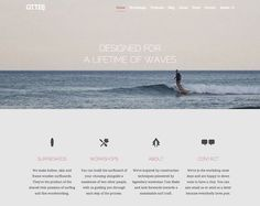 21 Clean Web Design Layouts #webdesign