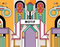 Source: behance.net #motif #geometric