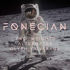 Fonecian Typeface on the Behance Network #geometric #typography