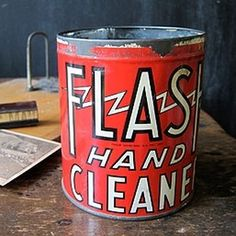 Three Potato Four - Flash Hand Cleaner Tin #can
