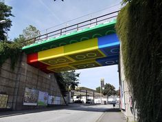 megx: LEGO bridge in germany #bridge #architecture #lego