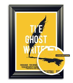 The ghost writer X A'dam film week on Behance #poster