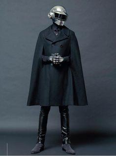 via y-uki #helmet #daft #punk #suit