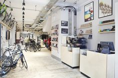 Kinoko Cycles 5 #interior #bicycles #shop