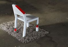 CJWHO ™ (The Cut Chair combines illusion with simple...)