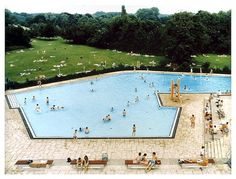 Andreas Gursky - Selected Works - Matthew Marks Gallery #gursky #people #pool #photography #summer #andreas