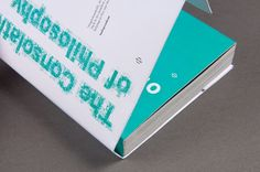 Alain De Botton - Aaron Gillett #aaron #design #book #gillett #teal
