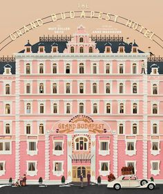The Wes Anderson Collection: The Grand Budapest Hotel: Amazon.co.uk: Matt Zoller Seitz: 9781419715716: Books #movie #budapest #grand #wes #anderson #book #the #illustration #hotel