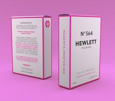 Hewlett Packard No. 564 - Packaging by Celeste Watson