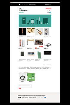 Allan Yu #website #design #ui