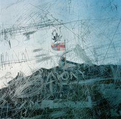 by Rebecca Jane Johnston #mirror #decay #scratch