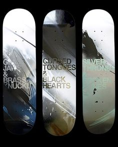 FFFFOUND! | blacklodges.com :: fire walk with me #skateboard #art