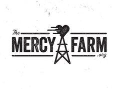 Mercy_farm #veneer typeface #logo #dirty #farm
