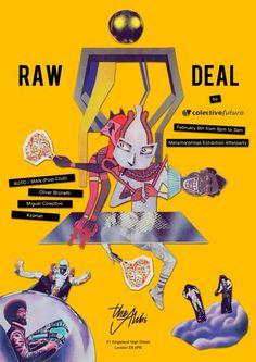 Raw Deal at The Alibi, London