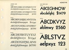 Daily Type Specimen | Janson and Kabel. One of those weird pairings that... #typography