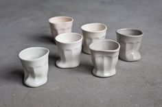 Melting cups by Joon&Jung #cups #pottery #melting