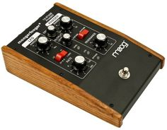 Moog MF103 12 Stage Phaser Moogerfooger Guitar Pedal | Rainbow Guitars #console inspiration