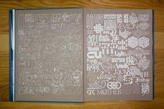 Herb Lubalin Inside Cover | Flickr Photo Sharing! #lubalin #typography