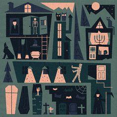 #illustration #halloween