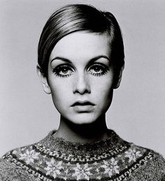 Halloween Made Easy: Twiggy « : TheGloss - A gloss on beauty, fashion, style, love and more #cute #eyes #girl