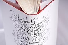 Graphic-ExchanGE - a selection of graphic projects #handwriting #bookcover