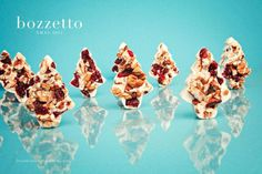 XMAS 12 by Bozzetto on Behance #chocolate #white #nuts