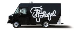 Fat Falafel - SM #truck #militia #nola #food #orleans #paint #la #logo #new