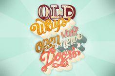 Finished lettering for Motivational Monday #illustration #monday #motivational #typography