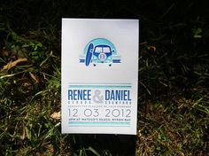 Renee and Daniel Wedding invitation set #wedding #letterpress