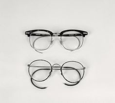 NoFavorite #glasses #white #black #frames #and