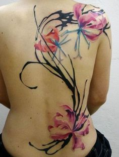 50+ Magnolia Flower Tattoos