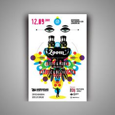 Zoom parties @ ARMA 17 club on the Behance Network #colour