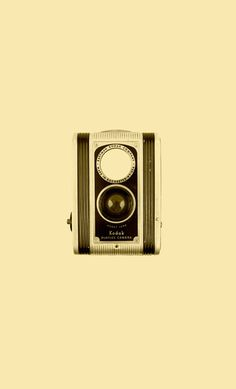 Kodak Duaflex Camera Art Print #old #camera #kodak #retro #vintage