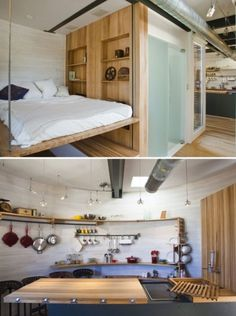 tumblr_l6zr0e2BQe1qb1s3io1_500.jpg (500×670) #interior #loft #design #home #wood