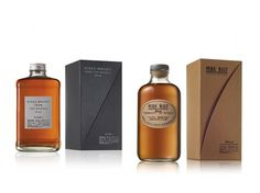 Nikka Whisky | Packaging of the World: Creative Package Design Archive and Gallery #packaging #whisky #nikka