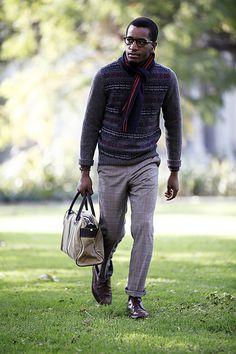 Expressions Realia » The Fair Isle Sweater – Archived #fashion #mens