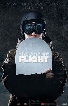 The Art of Flight Poster by Christopher Vinca #snowboarding #design #graphic #poster