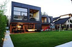 Rectangular-Shaped Private Residence in Ljubljana, Slovenia #architecture