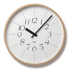 img56991211.jpg (320×320) #japan #design #riki #goods #clock #watanabe