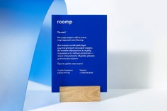 Room Hotels Branding - Mindsparkle Mag Beautiful branding for Roomp Hotels by Redo Bureau in Russia. #branding #corporate #design #identity #color #photography #graphic #design #gallery #blog #project #mindsparkle #mag #beautiful #portfolio #designer