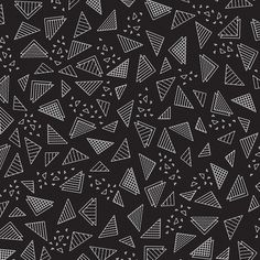 Triangle Explosion Art Print #triangle #pattern