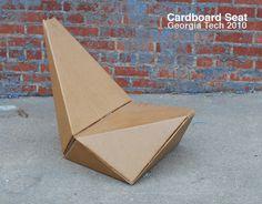 Interior AIA Cardboard Seat Minimalist #interior #design #decor #home #furniture #architecture