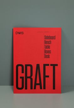 Graphic Design, Typography, Red, Poster