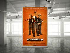 La Cosecha de los Naranjos #logotype #movie #design #orange #cosecha #simple #shortfilm #cine #naranjos #poster #film #cartel #logo #typography
