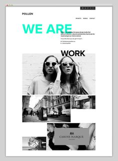 Websites We Love #grid #studio #website #web #web design #grid based