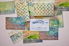 CIP - Can I Play Design // Merchant Osteria Veneta - Grossi #business #branding #card #design #graphic #texture #paint #identity
