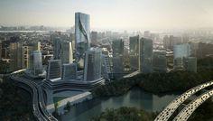 Yabao Hi-Tech Enterprises Headquarter Park on the Behance Network #yabao #design #10