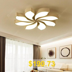 Modern #Simple #Remote #Control #Ceiling #Lamp #220V #- #WHITE
