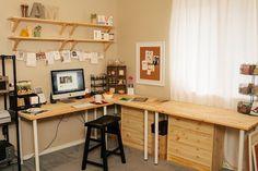 Spaces // Anastasia Marie #workspace