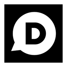 See more icon inspiration related to disqus, logo, logos, logotype, social network and social media on Flaticon.